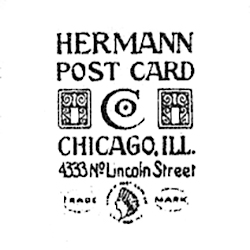 Hermann Post Card Co. Logo