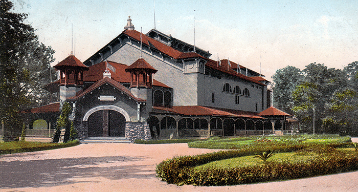 Olentangy Park Theatre postcard (enhanced)