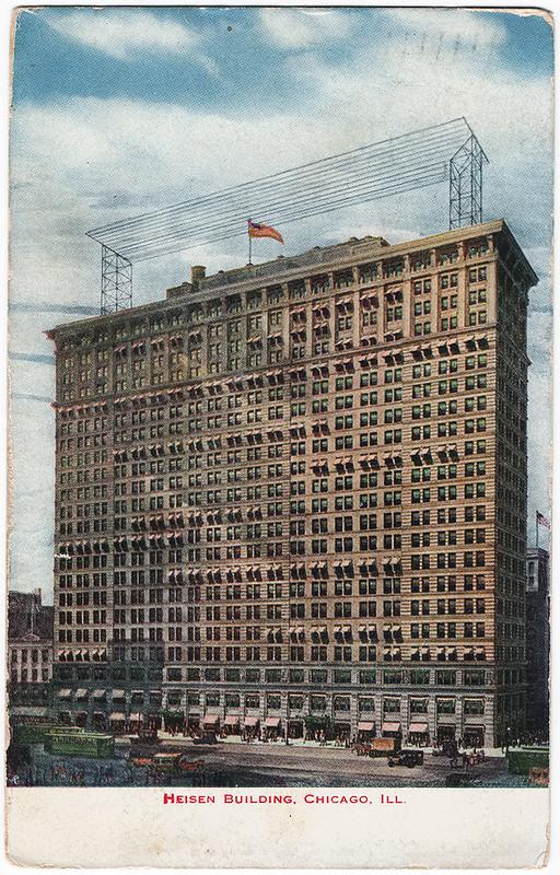 Heisen Building, Chicago, Illinois (1915)