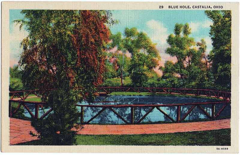 Blue Hole, Castalia, Ohio (Date Unknown)
